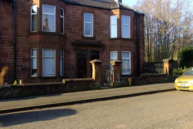 Thumbnail Flat to rent in Wood Street, Coatbridge, Lanarkshire