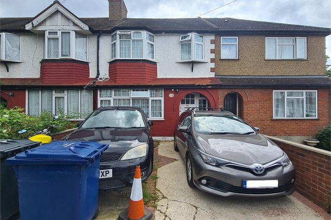Thumbnail Terraced house to rent in Jordan Road, Perivale, Greenford, Greater London