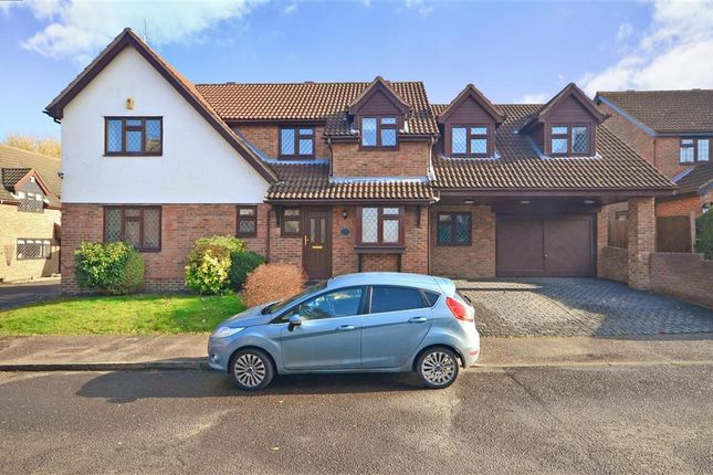 Thumbnail Detached house for sale in Paget Drive, Billericay, Essex