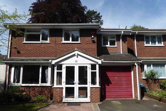 Thumbnail Detached house to rent in Wheeleys Road, Edgbaston, Birmingham