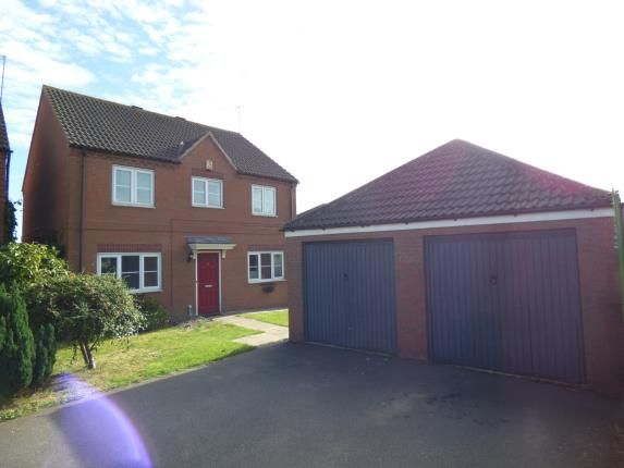 Thumbnail Detached house for sale in Auckland Close, Kingsthorpe, Northampton, Northamptonshire