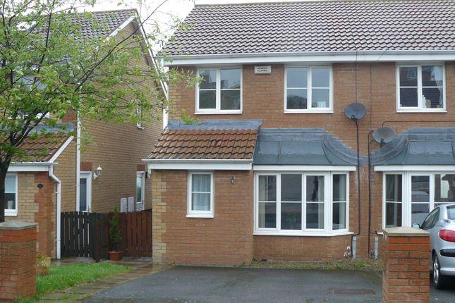 Thumbnail Semi-detached house to rent in Castle Grange, Skelton