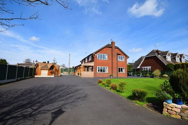 Thumbnail Detached house for sale in Hill Top, Brown Edge, Stoke-On-Trent