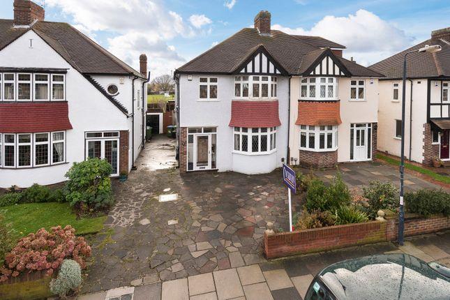Thumbnail Semi-detached house for sale in Castleford Avenue, London