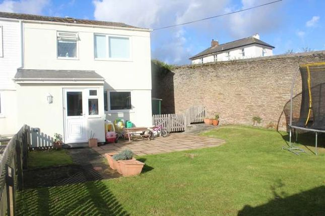 Thumbnail End terrace house for sale in Knowle House Close, Kingsbridge