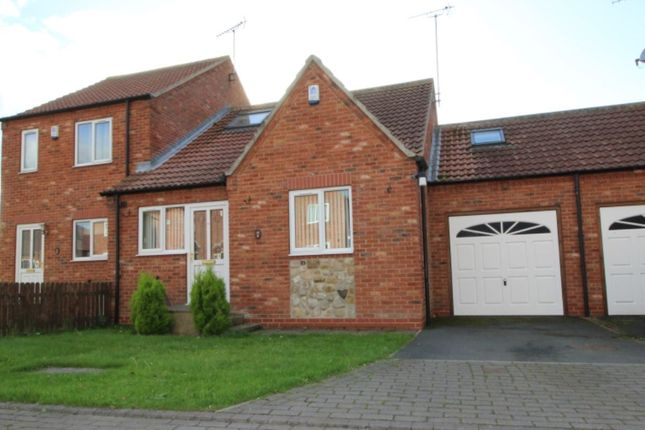 Thumbnail Bungalow for sale in The Courtyard, Skipsea, Driffield