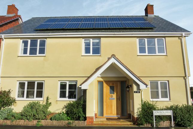 Thumbnail Detached house for sale in Crown Hill, Halberton, Tiverton
