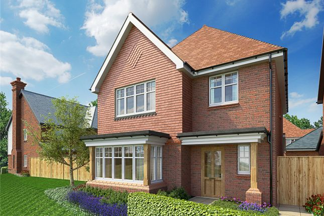 Thumbnail Detached house for sale in Hitches Lane, Fleet, Hampshire