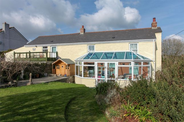Thumbnail Cottage for sale in Trethurgy, St Austell, Cornwall