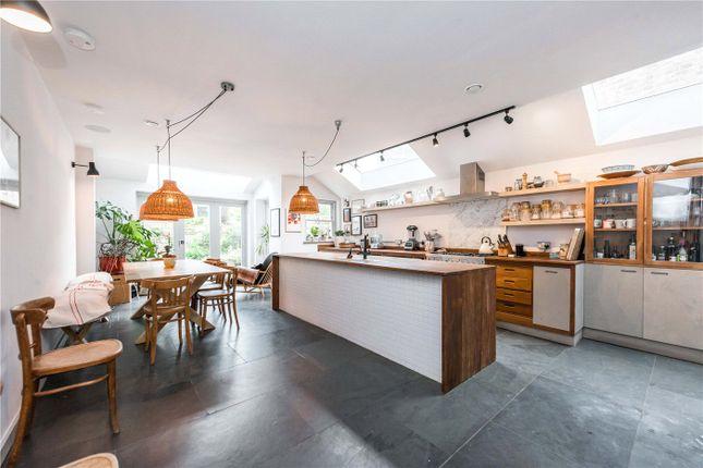 Thumbnail Terraced house to rent in Leighton Gardens, London