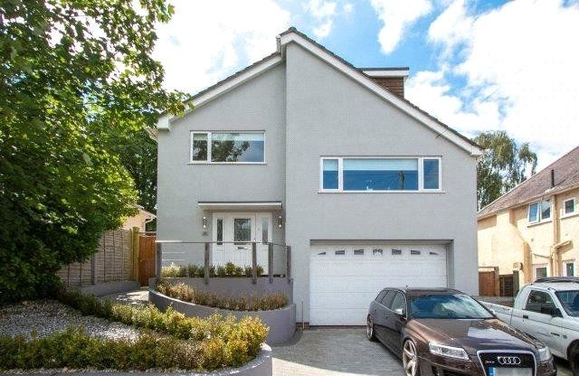 Thumbnail Detached house for sale in Caledon Road, Poole, Dorset