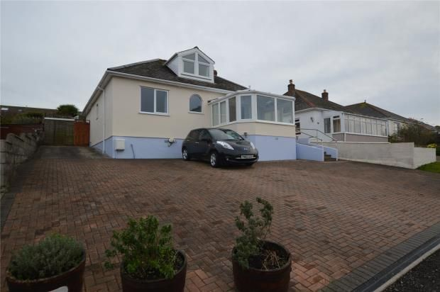 Thumbnail Detached bungalow for sale in Copper Hill, Hayle, Cornwall