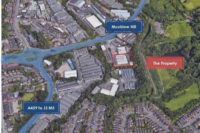 Thumbnail Warehouse for sale in Sterling Power - Former, Belfont Trading Estate, Mucklow Hill, Halesowen, West Midlands, UK
