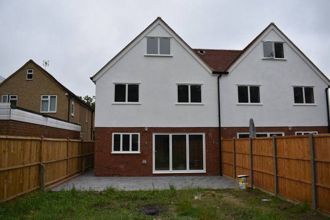 Thumbnail Semi-detached house to rent in New Road, Ascot