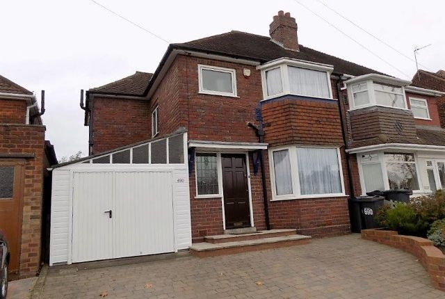 Thumbnail Semi-detached house for sale in Walsall Road, Great Barr, Birmingham
