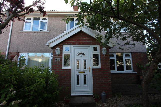 Thumbnail Semi-detached house for sale in Porset Drive, Castle Park, Caerphilly