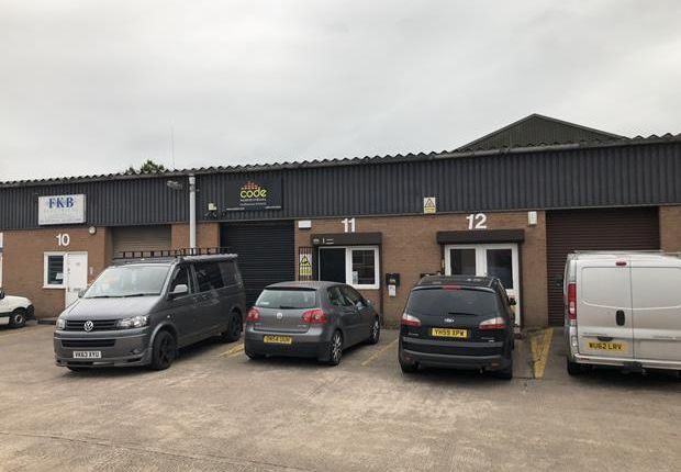 Thumbnail Light industrial to let in Unit 11, Quakers Coppice, Crewe, Cheshire
