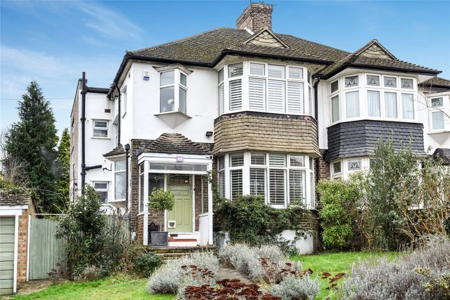 Thumbnail Semi-detached house for sale in Stambourne Way, West Wickham