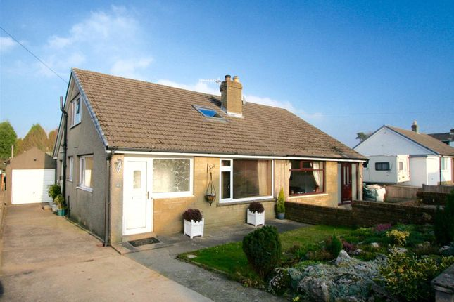 Thumbnail Semi-detached bungalow for sale in Hawthorn Close, Brookhouse, Lancaster