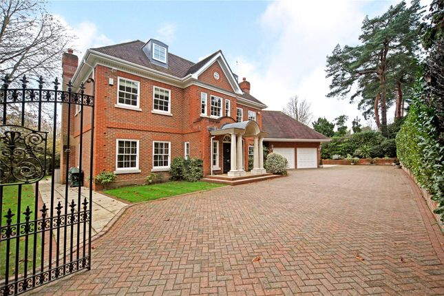 Thumbnail Detached house for sale in Heath Rise, Wentworth, Virginia Water, Surrey