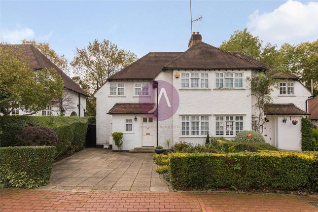 3 bed semi-detached house for sale in Brookland Close, Hampstead Garden Suberb, London NW11