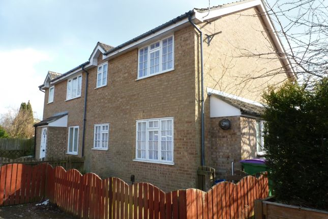 Thumbnail 1 bed semi-detached house to rent in Newbury Close, Folkestone