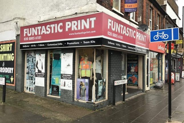 Thumbnail Retail premises for sale in High Street, Enfield