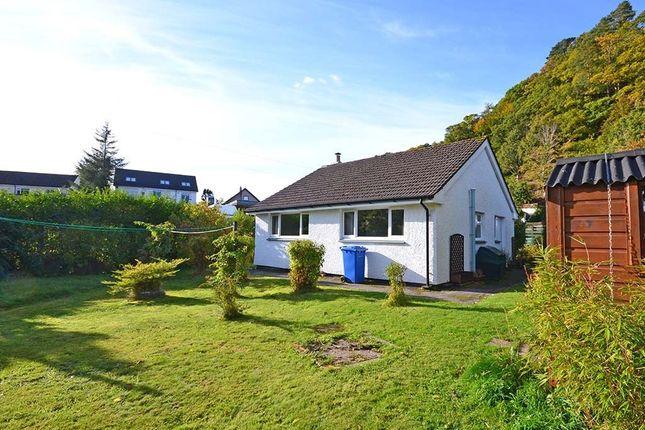 Thumbnail Detached bungalow for sale in Glencruitten Road, Oban