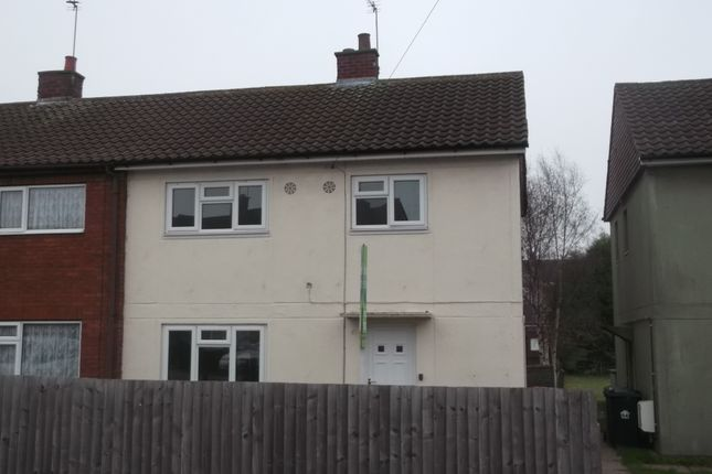Thumbnail Semi-detached house to rent in Dukes Road, Dordon, Tamworth