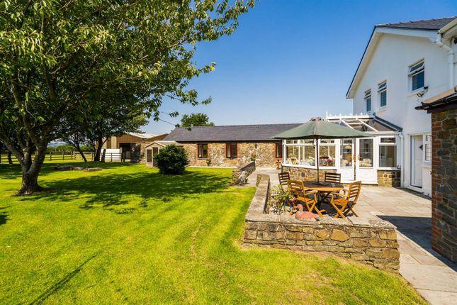 Thumbnail Detached house for sale in Little Wern Halog Farm, Llanrhidian, Gower, Swansea