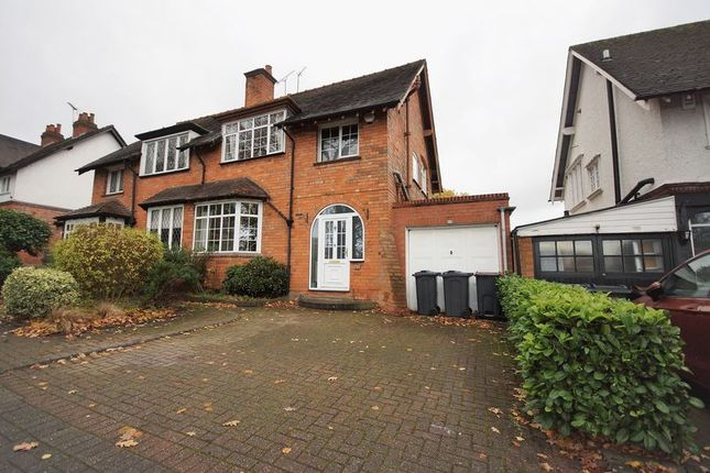 Semi-detached house in  Linden Road  Birmingham  Birmingham
