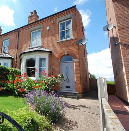 Thumbnail Semi-detached house for sale in Station Road, Southwell, Nottinghamshire