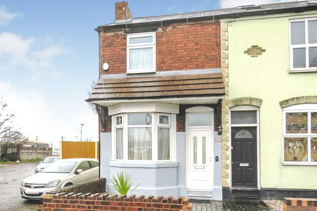 Thumbnail End terrace house for sale in Charles Street, Willenhall