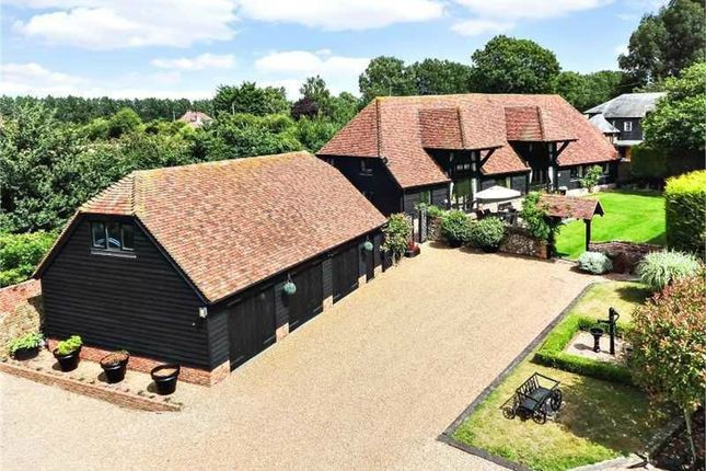 Thumbnail Barn conversion for sale in Place Lane, Hartlip, Sittingbourne, Kent