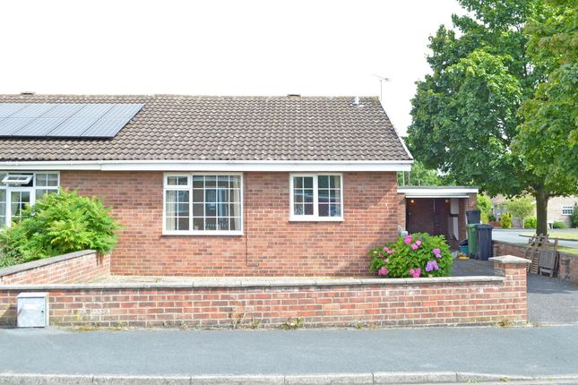 Thumbnail Semi-detached bungalow to rent in The Croft, Strensall, York