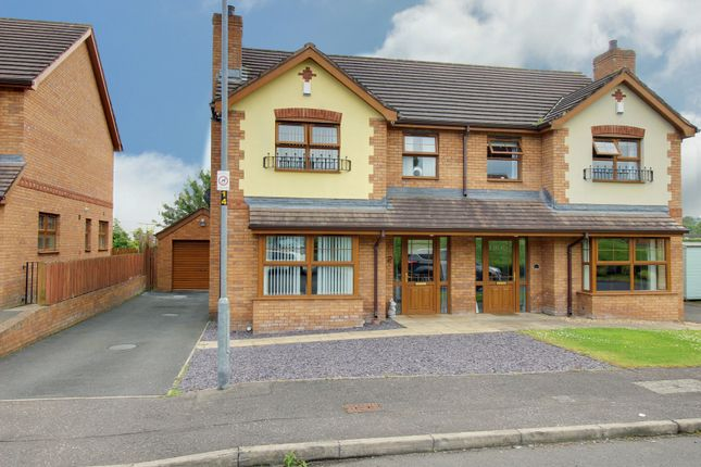 Thumbnail Semi-detached house for sale in Judes Crescent, Newtownards