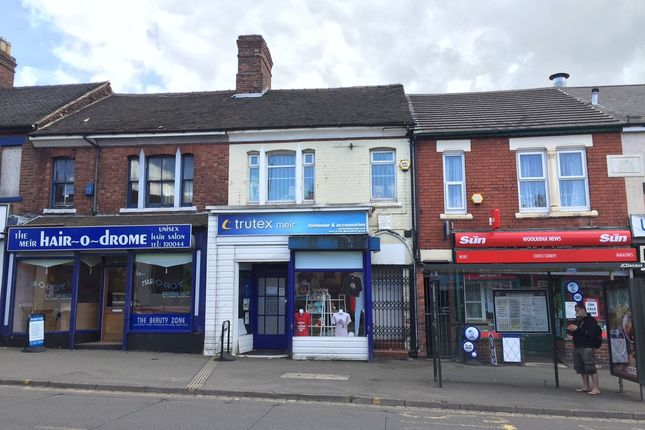 Commercial property for sale in 47-47A Weston Road, Meir, Stoke-On-Trent, Staffordshire
