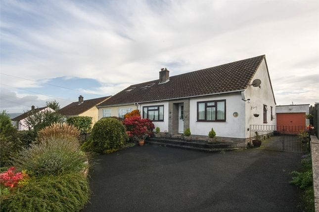 Thumbnail Semi-detached bungalow for sale in 6 Combe Batch Rise, Wedmore, Somerset