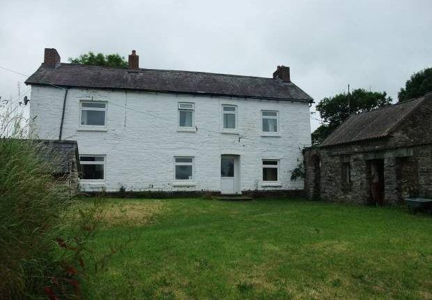 Thumbnail Farmhouse for sale in Rhoshill, Cardigan, Pembrokeshire