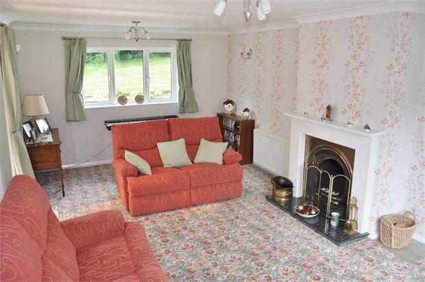 Lounge of Cade Hill Road, Stocksfield, Northumberland. NE43