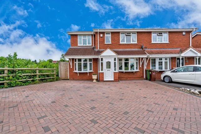 Thumbnail Semi-detached house for sale in Gorey Close, Coppice Farm, Willenhall