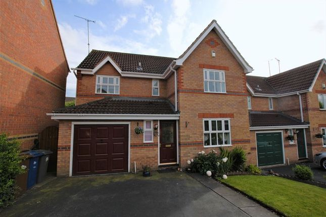 Thumbnail Detached house for sale in Brooklands Close, Uttoxeter