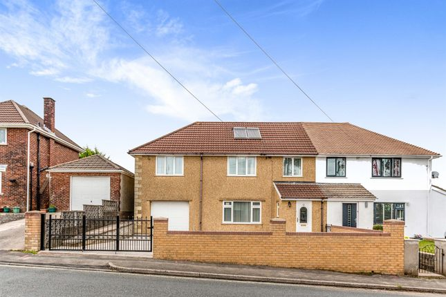 Thumbnail Semi-detached house for sale in St. Illtyds Road, Church Village, Pontypridd