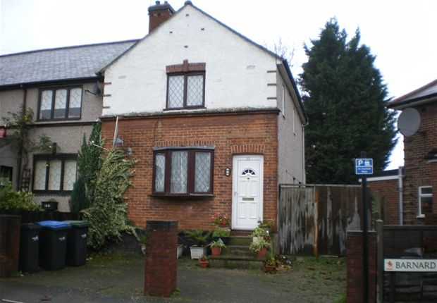Thumbnail End terrace house for sale in Barnard Road, Enfield