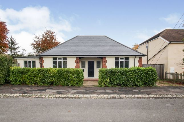 Thumbnail Detached bungalow for sale in Manor Road, Tring