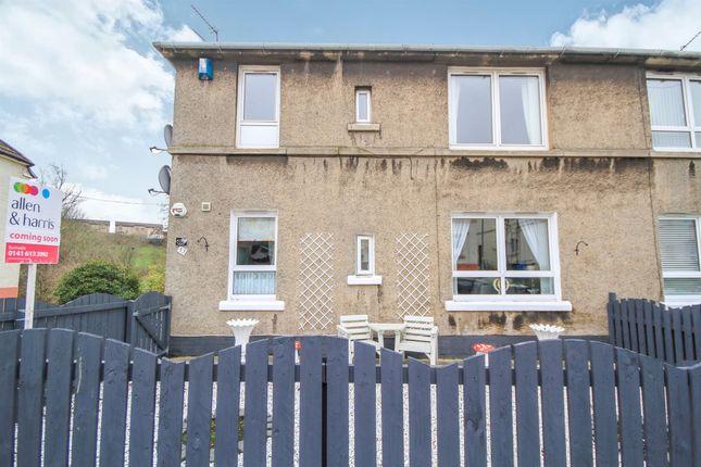 Thumbnail Flat for sale in Milrig Road, Rutherglen, Glasgow