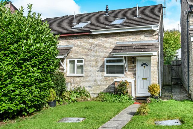 Thumbnail End terrace house for sale in Woodland Crescent, Creigiau, Cardiff
