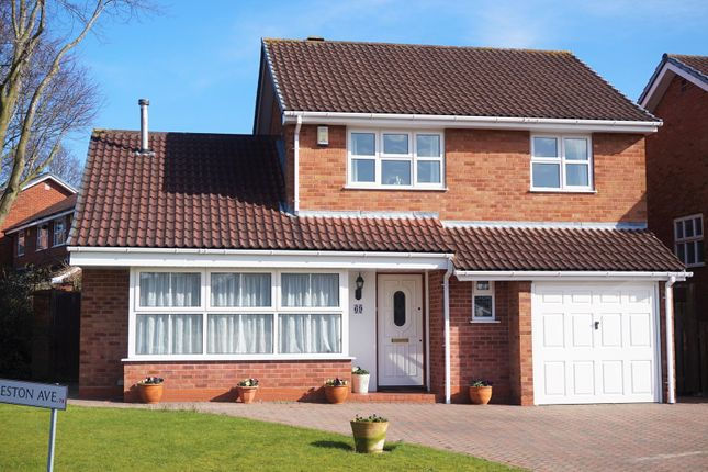 Thumbnail Detached house for sale in Preston Avenue, New Hall, Sutton Coldfield