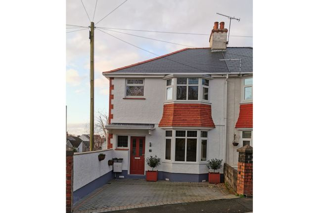 3 bed semi-detached house for sale in Kimberley Road, Swansea SA2