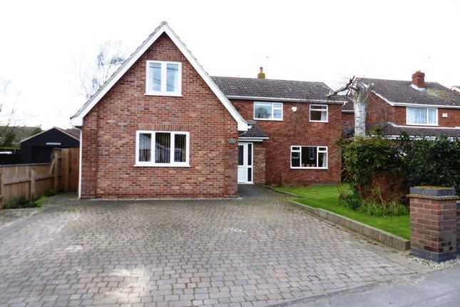 Thumbnail Detached house for sale in Church Road, Saxilby, Lincoln